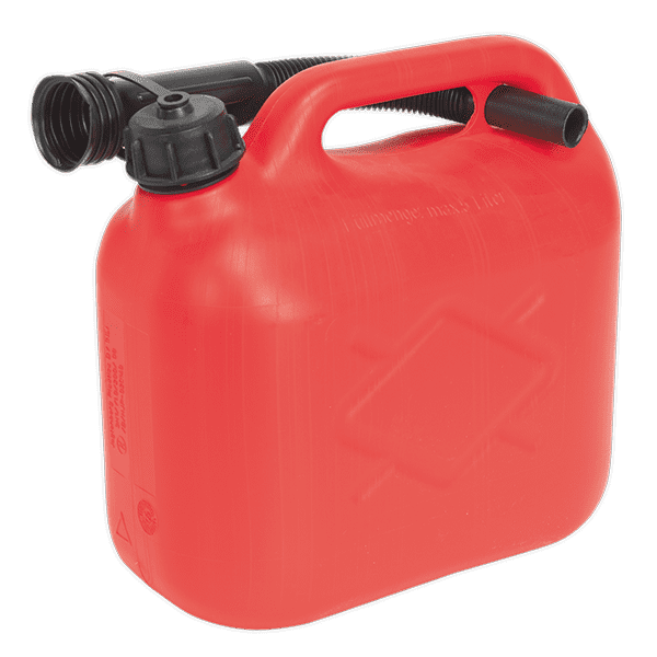 Sealey JC5R - Fuel Can 5ltr - Red
