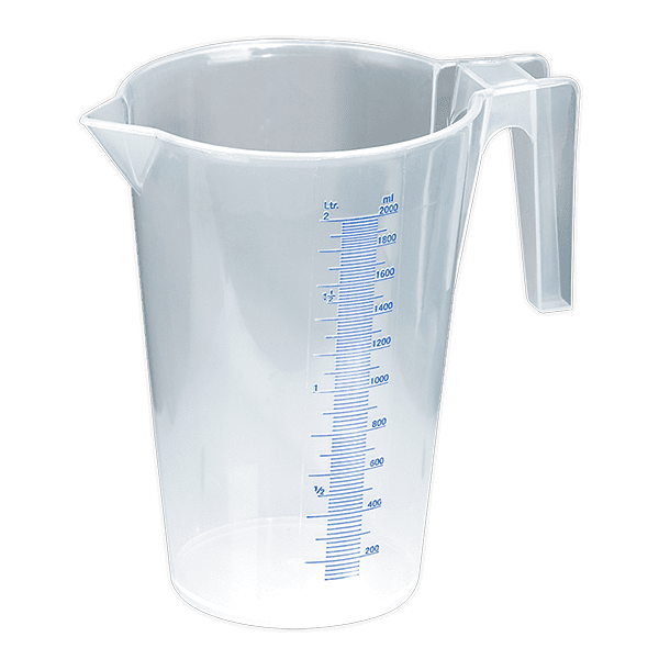 Sealey JT2000 - Measuring Jug Translucent 2.0ltr