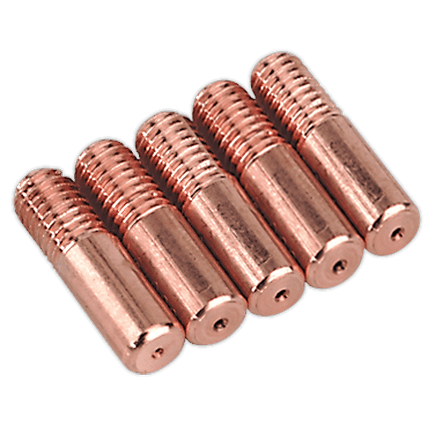 Sealey MIG951 - Contact Tip 0.6mm TB14K Pack of 5