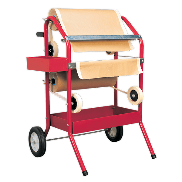 Sealey MK66 - Masking Paper Dispenser 2 x 450mm Trolley