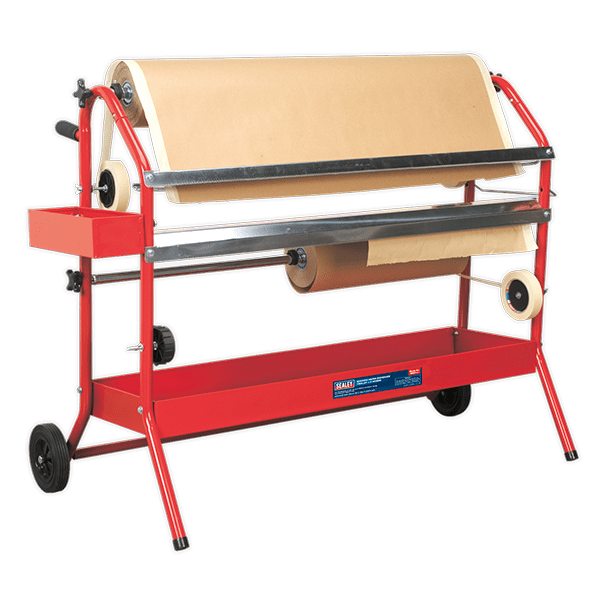 Sealey MK67 - Masking Paper Dispenser 2 x 900mm Trolley