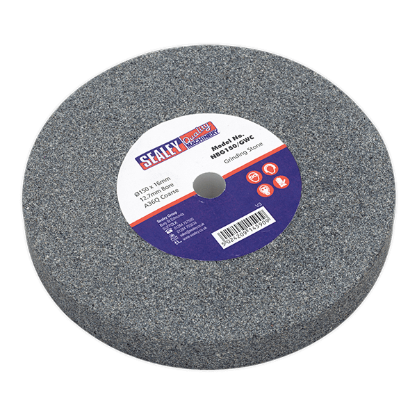 Sealey NBG150/GWC - Grinding Stone O150 x 16mm 12.7mm Bore A36Q Coarse