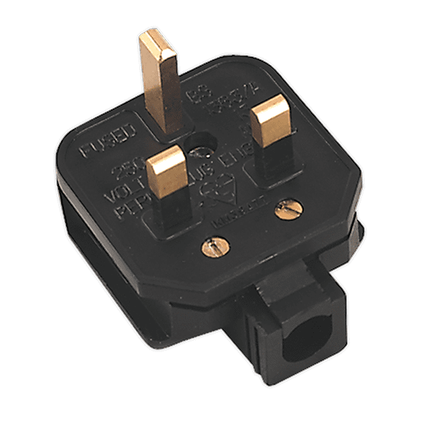 Sealey PL/13/3S - Rubber Plug 13Amp Extra Heavy-Duty