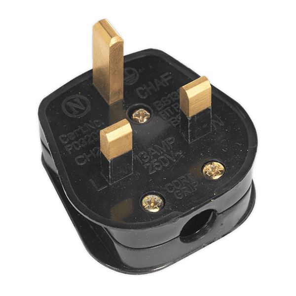 Sealey PL13/320S - Resilient Plug 13Amp Heavy-Duty