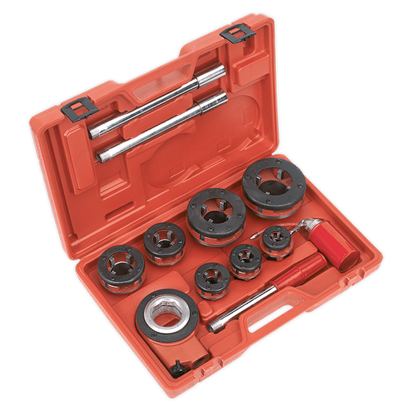 "Sealey PTK992 - Pipe Threading Kit 3/8"" - 2""BSPT"