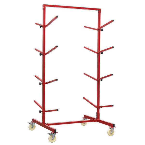 Sealey RE55 - Bumper Rack Double-Sided 4-Level