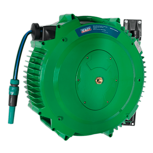 Sealey RGH18 - Retractable Water Hose Reel 18mtr 12mm ID PVC Hose