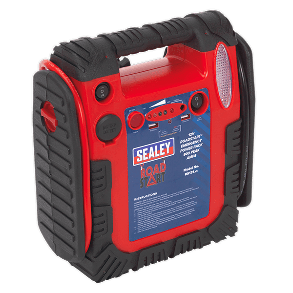 Sealey RS131 - RoadStart Emergency Power Pack 12V 900 Peak Amps