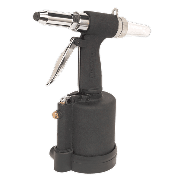 "Sealey SA314 - Air Riveter 1/4"" Steel Aluminium & Stainless Steel Rivets"