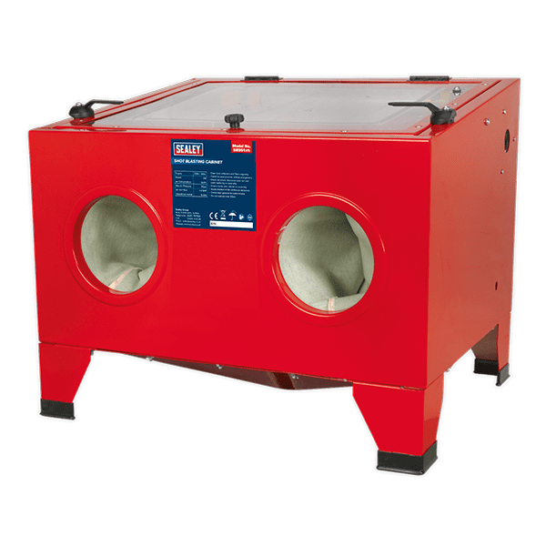 Sealey SB951 - Shot Blast Cabinet with Gun 640 x 490 x 490mm