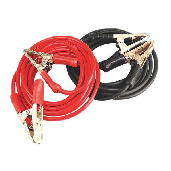 Sealey SBC50/6.5/EHD - Booster Cables 6.5mtr 900Amp 50mm² Extra Heavy-Duty Clamps