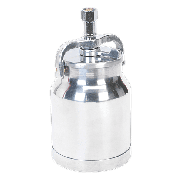 Sealey SC138 - Alloy Paint Pot with Cam Action Lid 1ltr