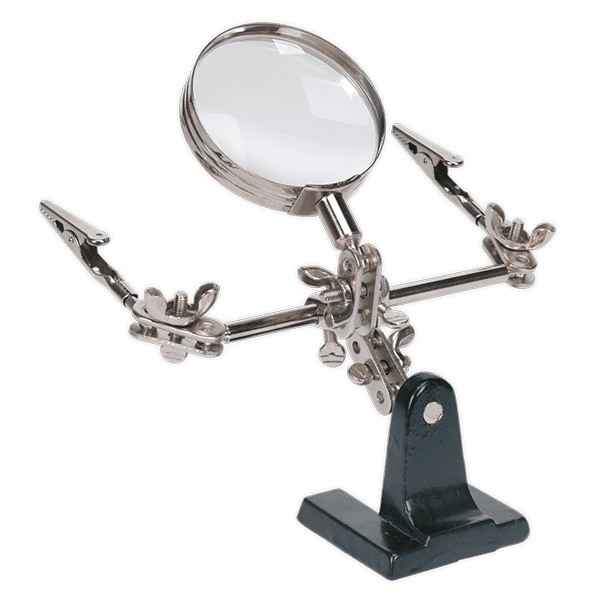 AK9647 Sealey Tools Magnifying Glass Ø75mm Miscellaneous Magnifying Glass