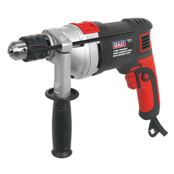 Sealey SD800 - Hammer Drill 13mm Variable Speed with Reverse 810W/230V