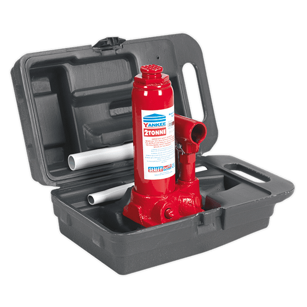 Sealey SJ2BMC - Bottle Jack Yankee 2tonne with Carry-Case