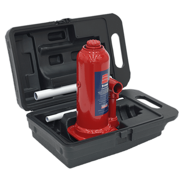 Sealey SJ5BMC - Bottle Jack Yankee 5tonne with Carry-Case