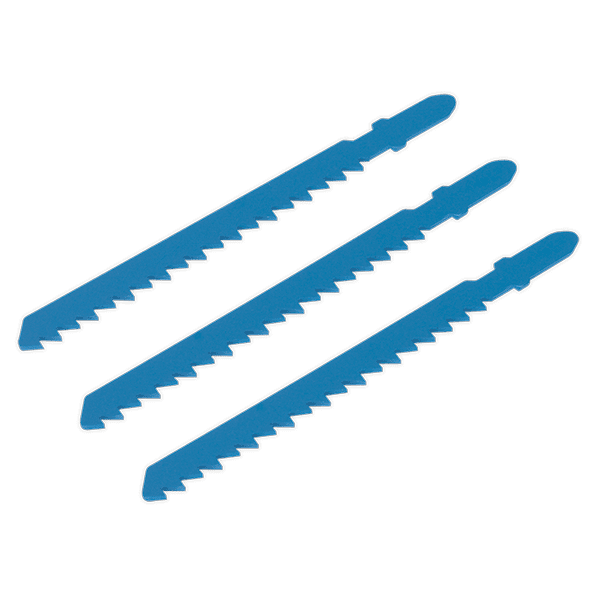 Sealey SJS700B06 - Jigsaw Blade 6tpi Pack of 3