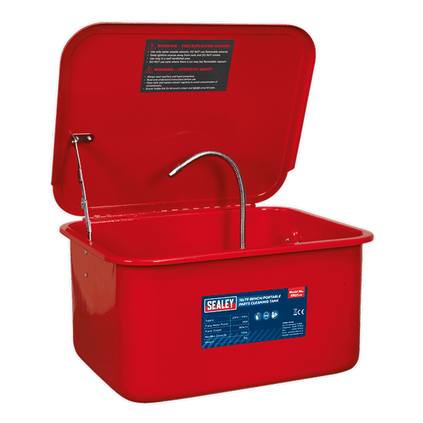 Sealey SM21 - Parts Cleaning Tank Bench/Portable