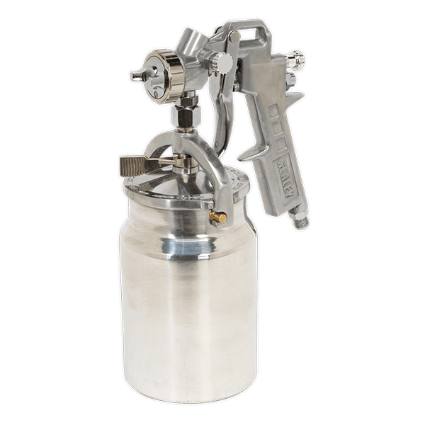 Sealey SSG401 - Spray Gun Suction Feed 1.5mm Set-Up