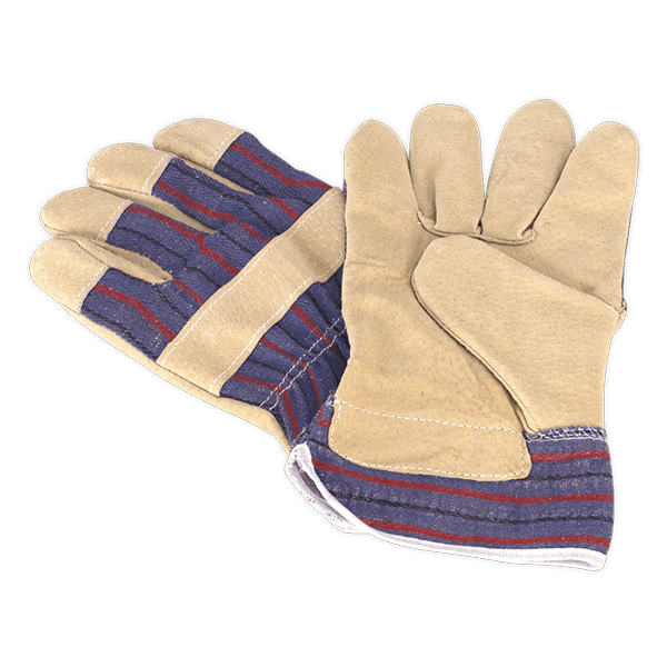 Sealey SSP12 - Riggers Gloves Pair