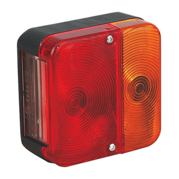 Sealey TB18 - Rear Square Lamp Cluster 12V with Bulbs