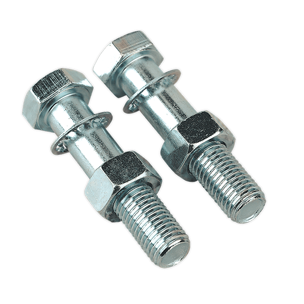 Sealey TB26 - Tow Ball Bolts & Nuts M16 x 75mm Pack of 2