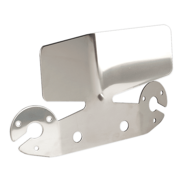 Sealey TB302 - Socket & Bumper Protection Plate Stainless Steel