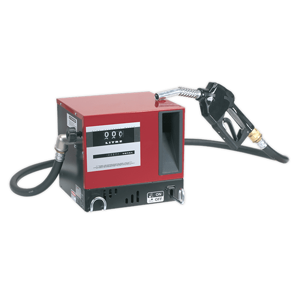 Sealey TP955 - Diesel/Fluid Transfer System 56ltr/min Wall Mounting with Meter 230V