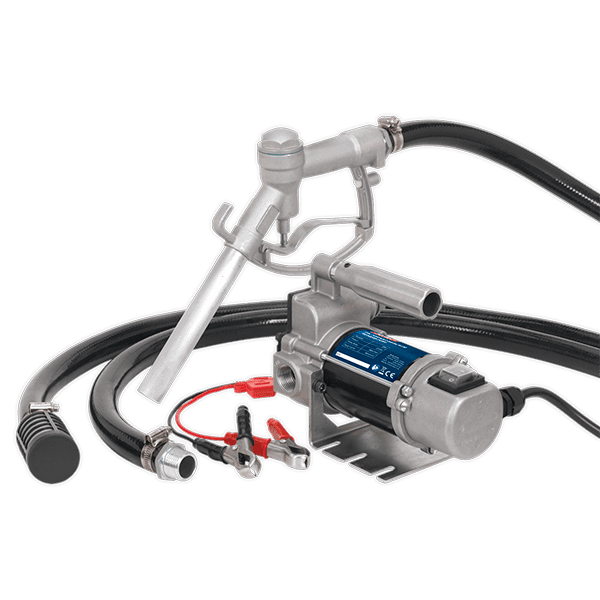 Sealey TP9624 - Diesel/Fluid Transfer Pump Portable 24V