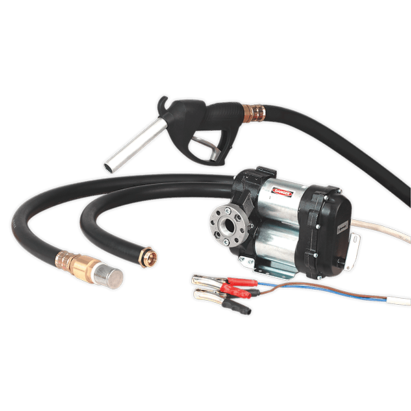 Sealey TP9824 - Diesel & Fluid Transfer Pump 24V High Volume