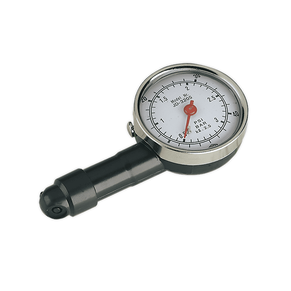 Sealey TST/PG97 - Tyre Pressure Gauge Dial Type GS/TUV Approved