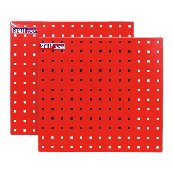 Sealey TTS05 - PerfoTool Storage Panel 500 x 500mm Pack of 2
