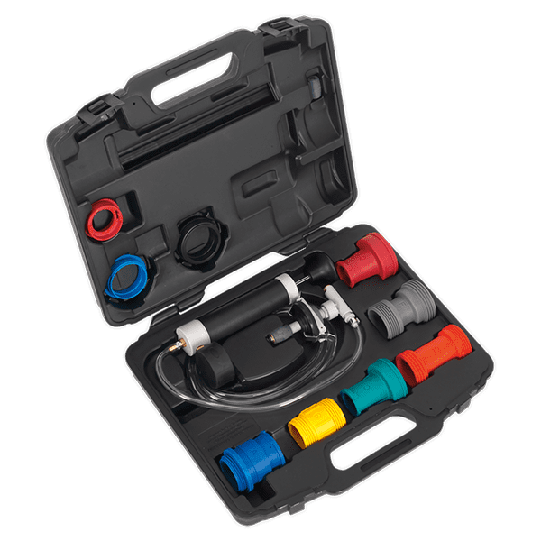 Sealey VS0031 - Cooling System & Cap Testing Kit