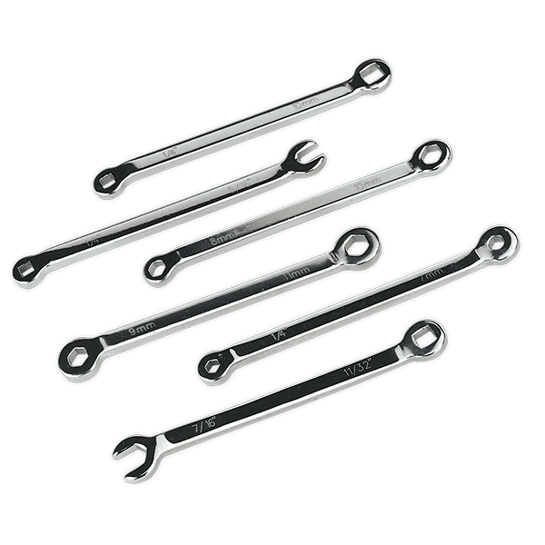 Sealey VS026 - Brake Service Spanner Set 6pc