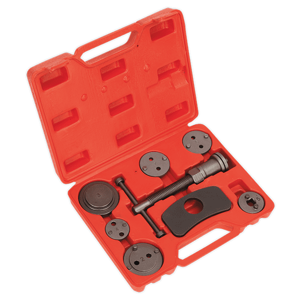 Sealey VS028 - Brake Piston Wind Back Tool Kit 8pc