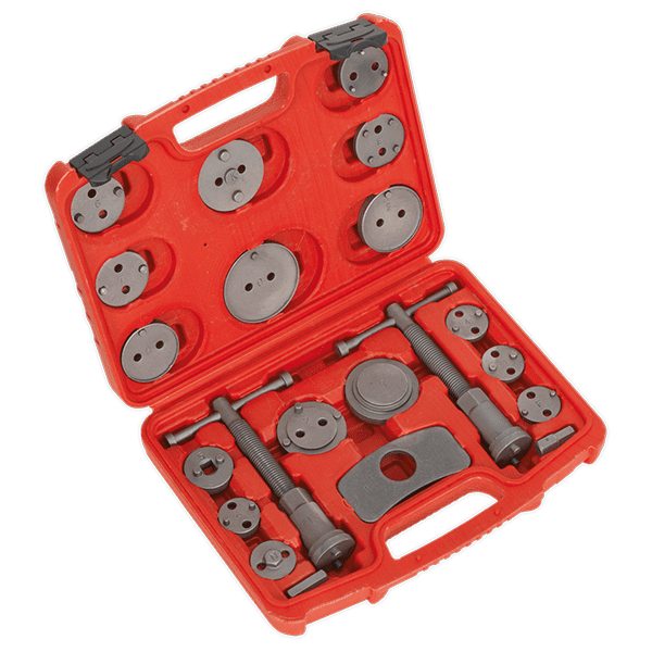 Sealey VS0282 - Brake Wind-Back Tool Kit 18pc