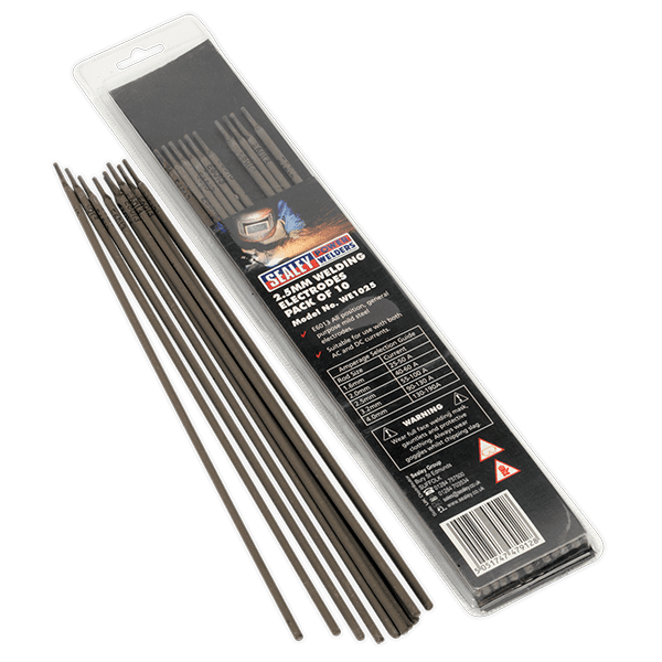 Welding Electrodes 2.5mm Pack of 10