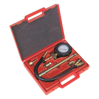 Sealey VS200D - Petrol Engine Compression Tester - Deluxe Kit