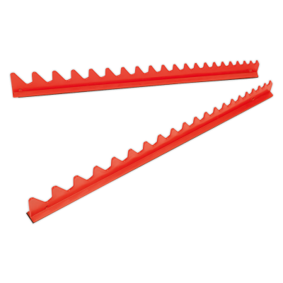 Sealey WR02 - Sharks Teeth Spanner Rack Magnetic 2pc